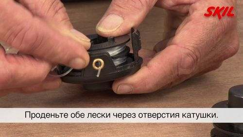 Почему бы нет't the Fishing Line Come Out of the Trimmer Head